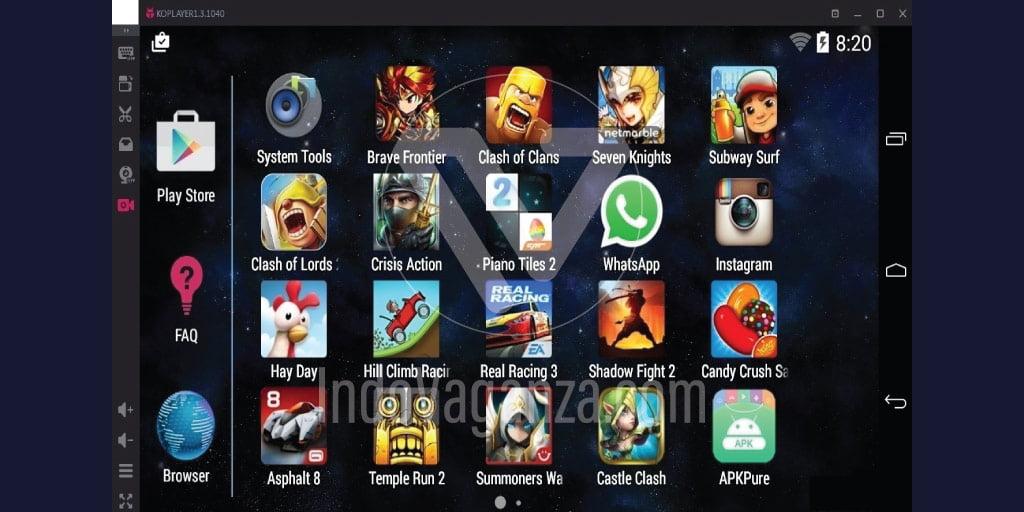 8 Emulator Android di PC yang di rekomendasikan