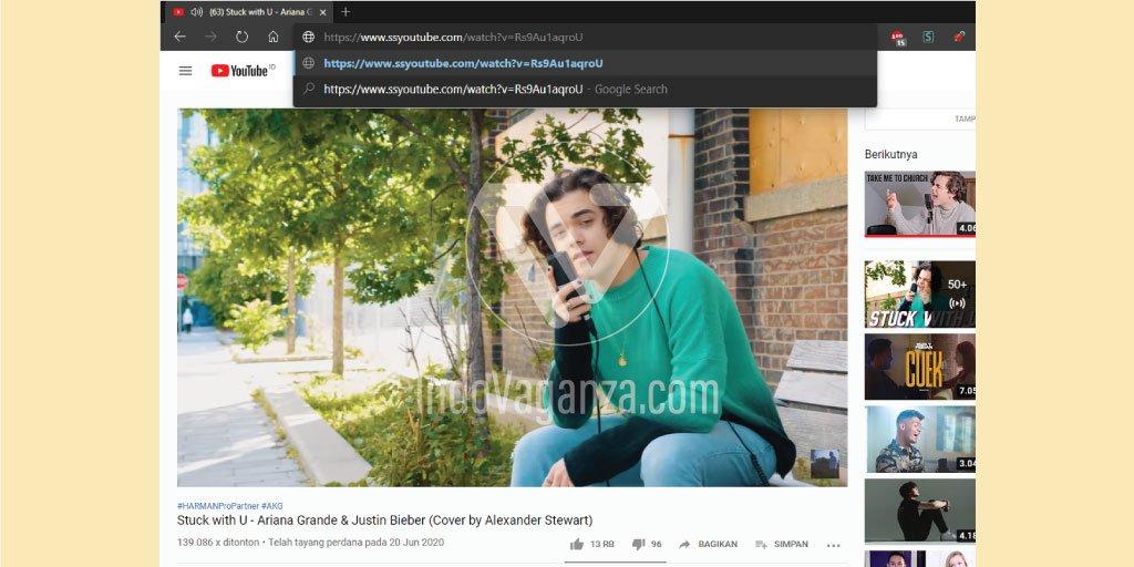 Cara Menyimpan Video Dari YouTube ke Laptop Tanpa Aplikasi