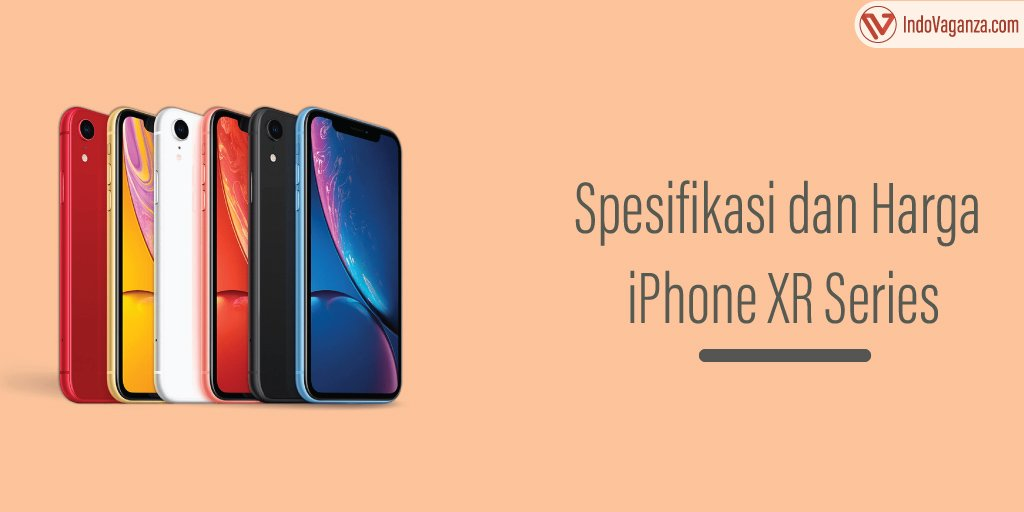 Harga HP iPhone XR Series
