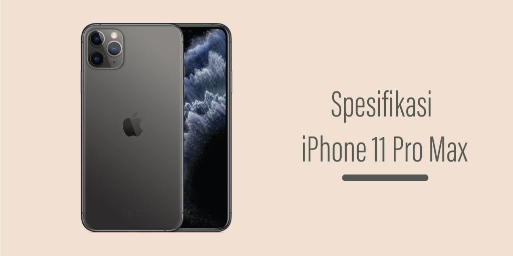 Harga iPhone 11 Pro Max