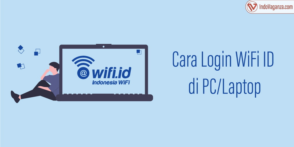 cara login wifi id di laptop
