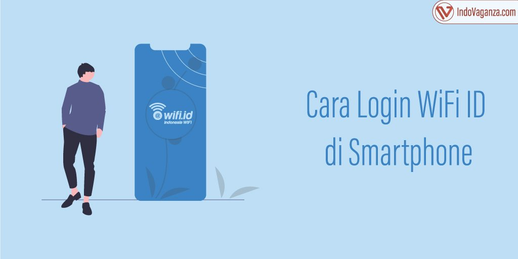 cara login wifi id di android