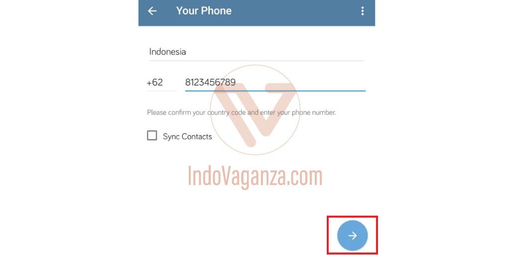 cara menggunakan telegram di iphone