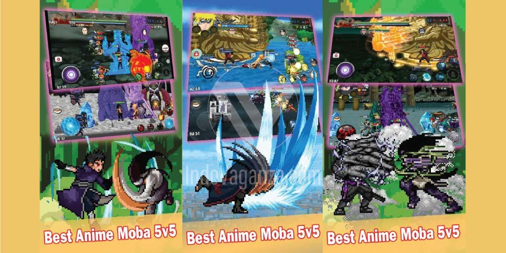 Moba Battle League of Ninja