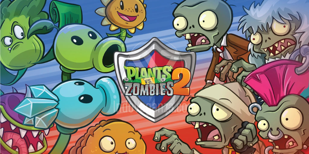 Plants vs Zombies 2, game petualangan android offline