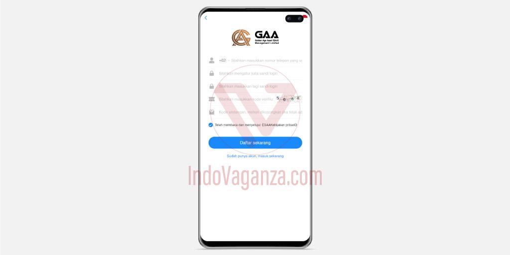 Cara Daftar dan Download Aplikasi GAA