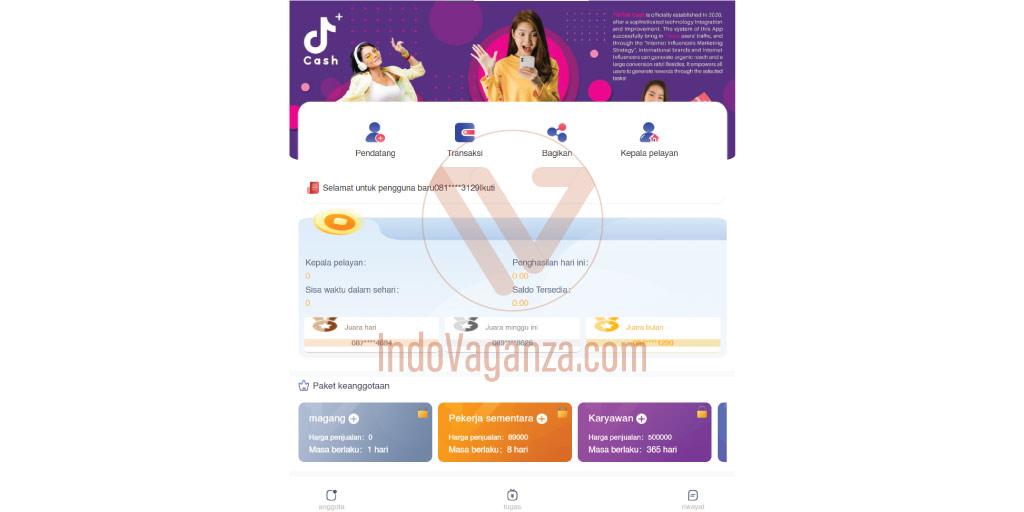 Download Aplikasi TikTok Cash