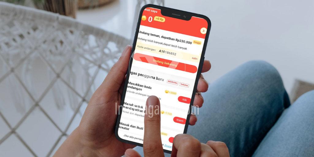 Cara Memasukkan Kode Undangan Aplikasi LikeIt Lite